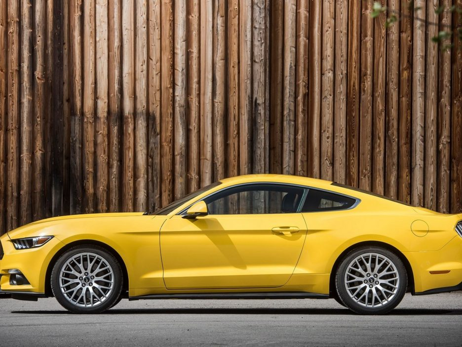 Ford Mustang profilo