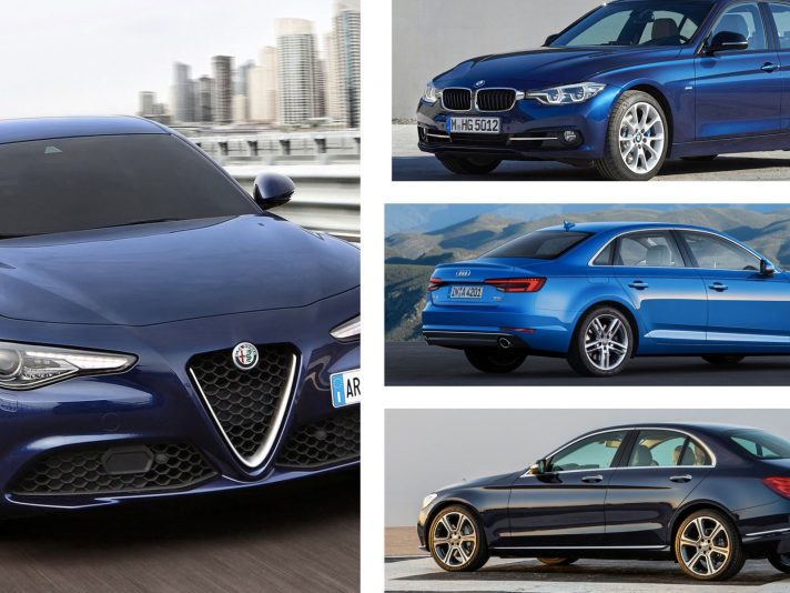 Berline: Giulia Vs le tedesche