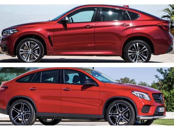 SUV Coupé: BMW vs Mercedes, stile a confronto