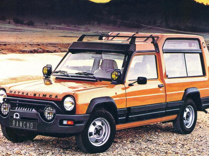 Matra Ranch (1977): SUV prima che fosse trendy