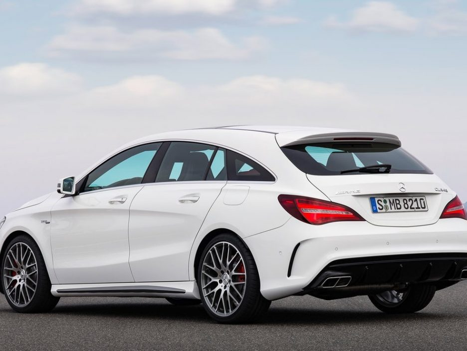 mercedes cla 45 amg shooting brake primo contatto. Black Bedroom Furniture Sets. Home Design Ideas