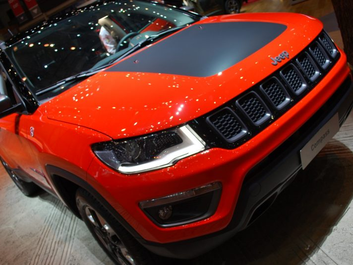 Jeep Compass mascherina - Ginevra 2017