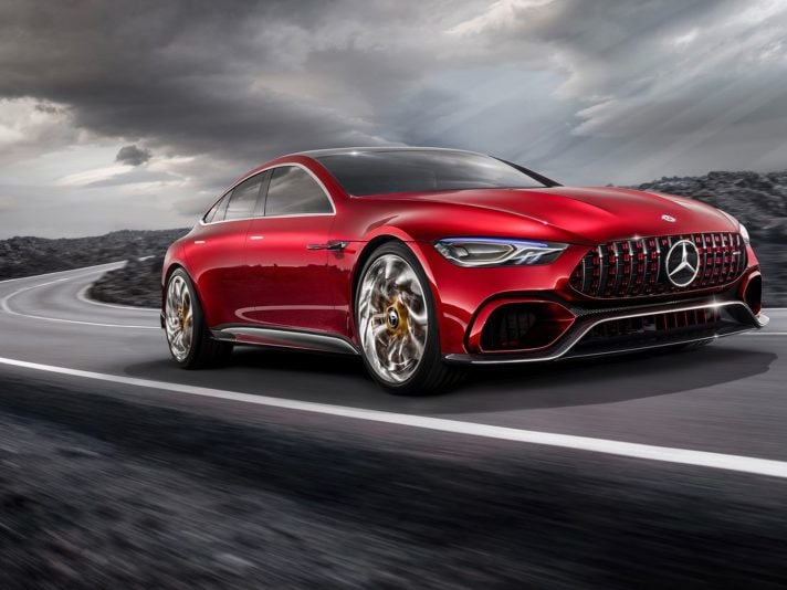 Mercedes-AMG GT Concept: il video