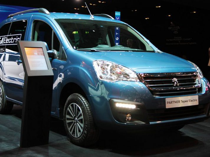 Peugeot a Ginevra 2017: lo stand