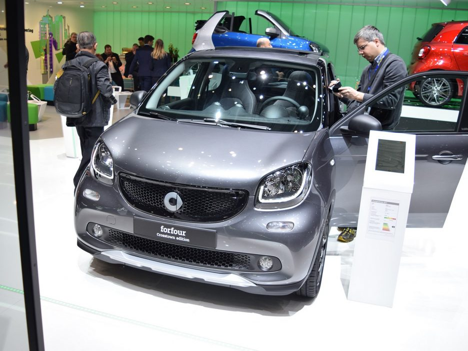 Smart forfour crosstown edition 2 - Ginevra 2017