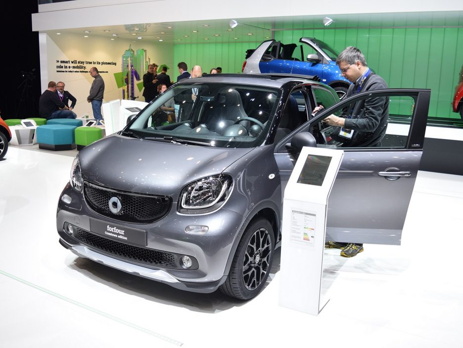 Smart forfour crosstown edition - Ginevra 2017