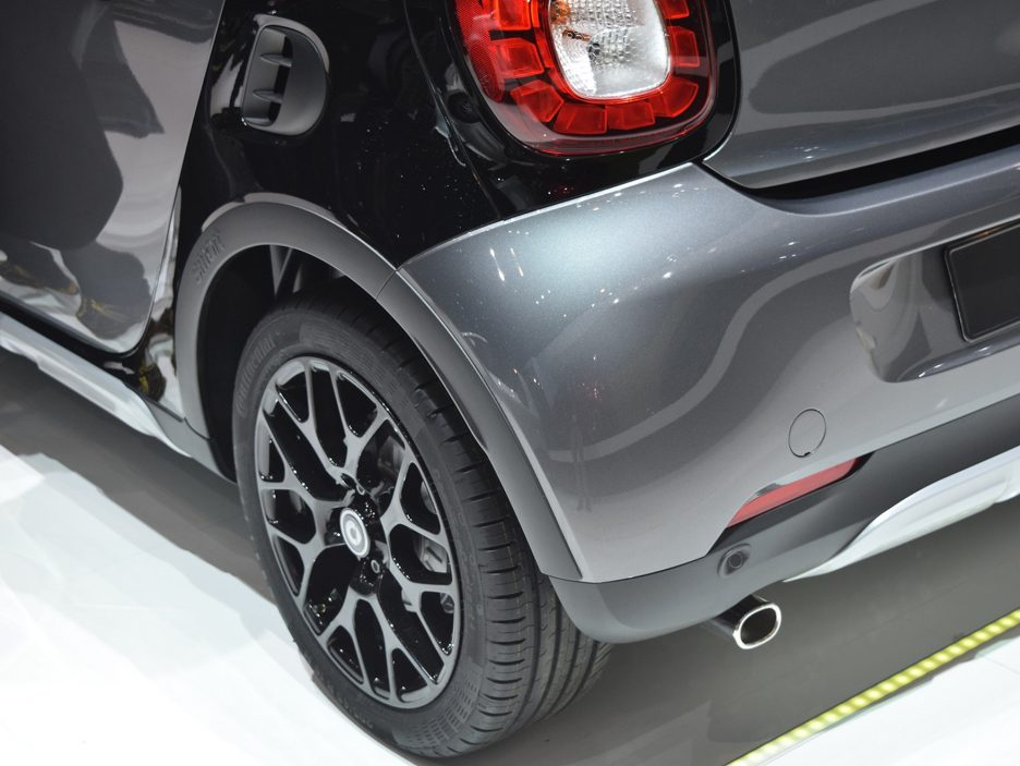 Smart forfour crosstown edition cerchi in lega - Ginevra 2017