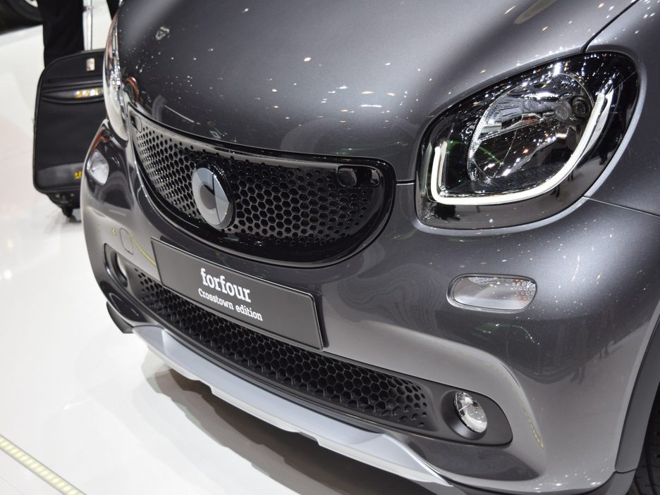 Smart forfour crosstown edition mascherina - Ginevra 2017