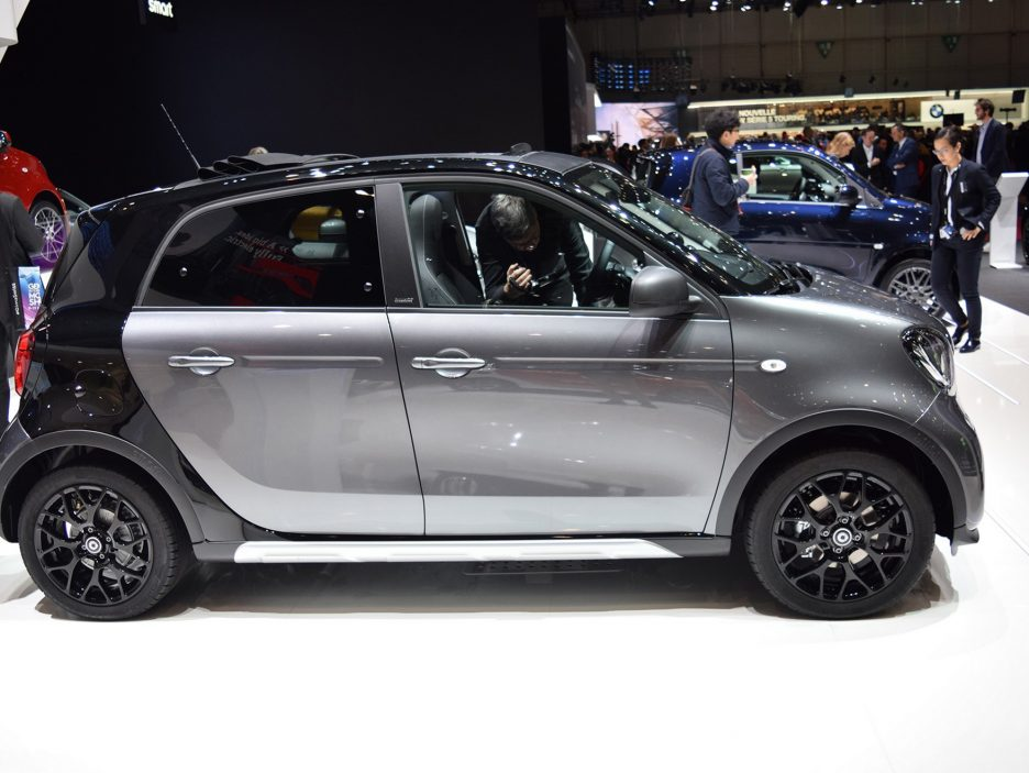Smart forfour crosstown edition profilo - Ginevra 2017