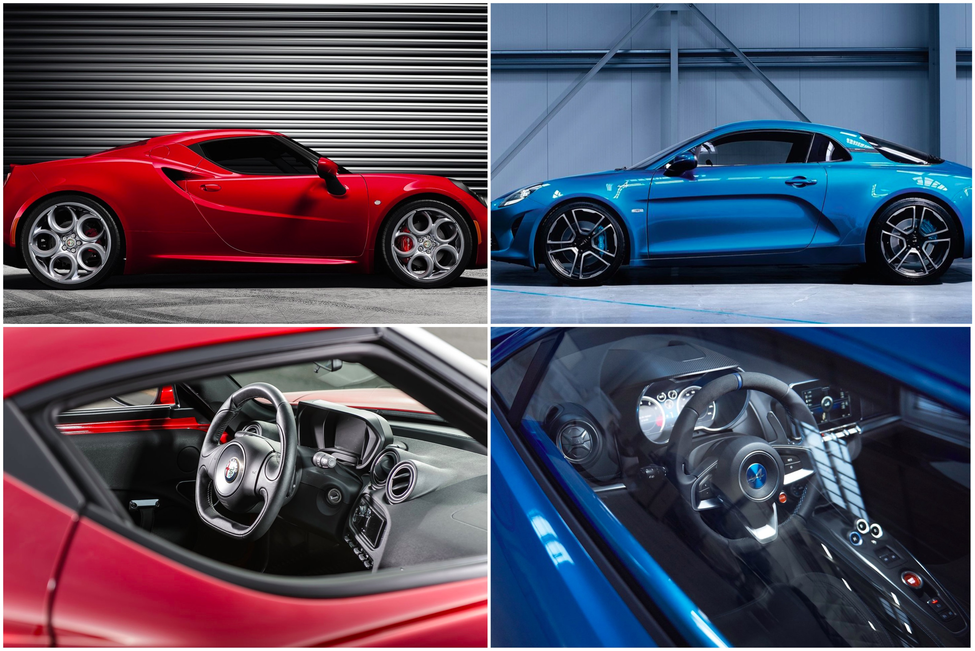 Alpine A110 l anti Alfa Romeo 4C News Panoramauto