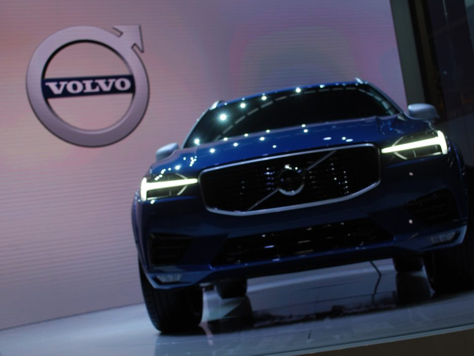 Volvo XC60 frontale - Ginevra 2017