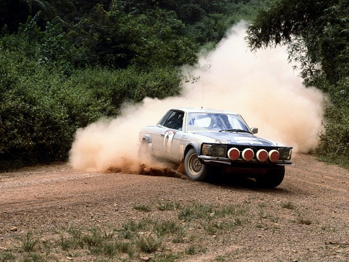1980 - Rally Costa d'Avorio Mercedes 500 SLC