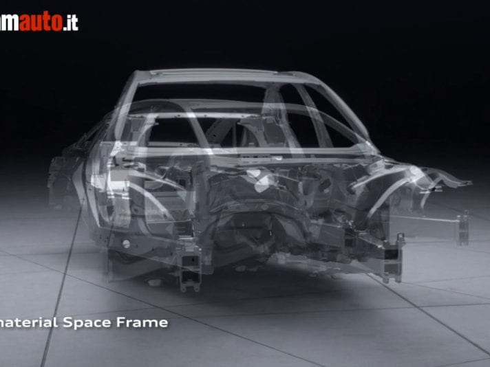 Audi A8: Space Frame 2018