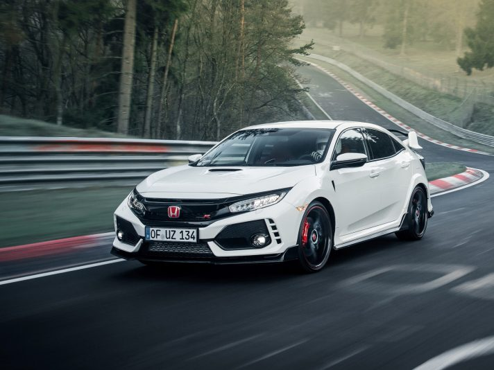 Honda Civic Type R: è record al Nürburgring