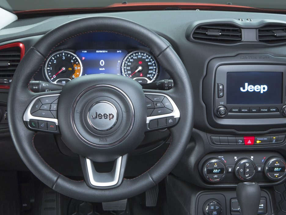 A bordo della Jeep Renegade - Foto - Panoramauto