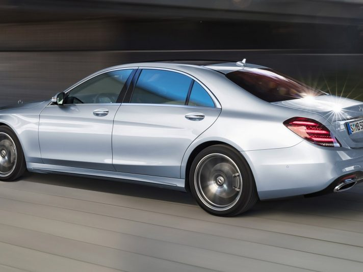 Mercedes Classe S: a Shanghai il restyling 2017