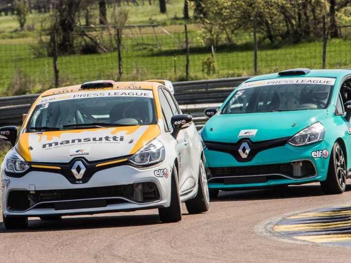 Renaul Clio Cup Press League 1