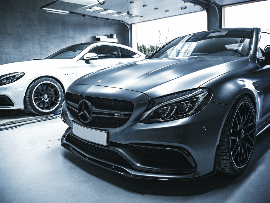 Mercedes C 63 AMG by Chrometec