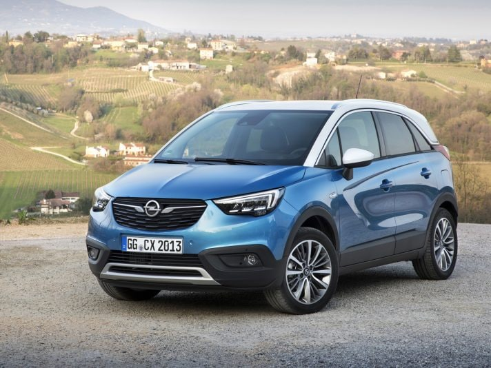 opel crossland x la seconda b suv di r sselsheim primo contatto panoramauto. Black Bedroom Furniture Sets. Home Design Ideas