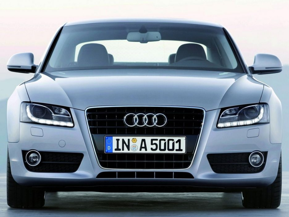 Audi A5 frontale
