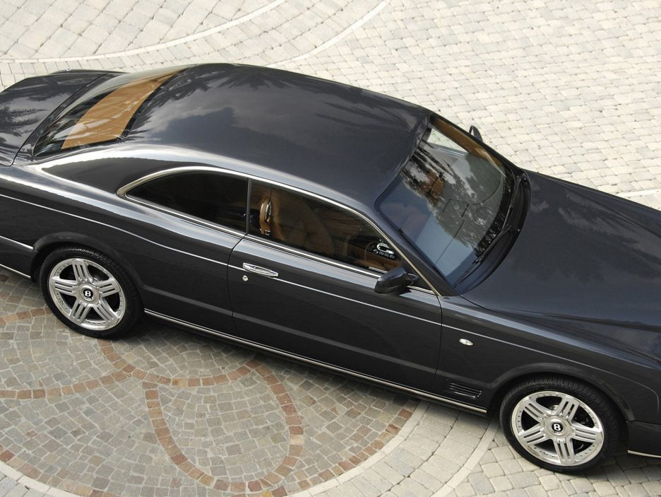 Bentley Brooklands vista dall'alto