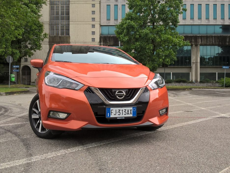 Nissan Micra frontale