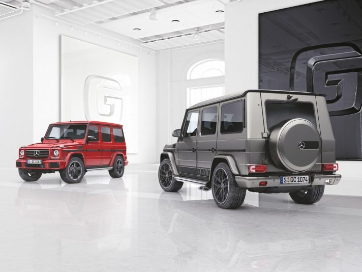 Mercedes Classe G: due nuove serie limitate