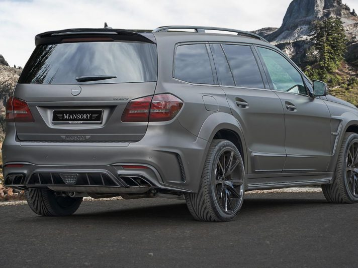 Mercedes GLS 63 by Mansory