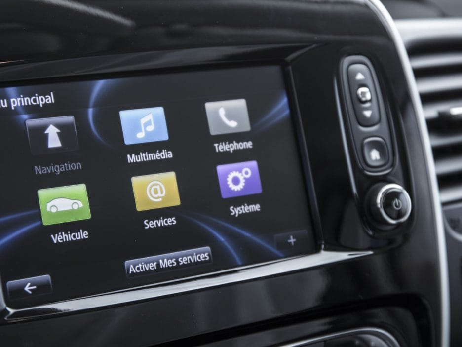 Renault Trafic SpaceClass infotainment