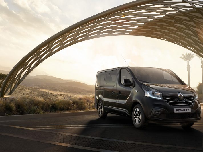 Renault Trafic SpaceClass: lo shuttle
