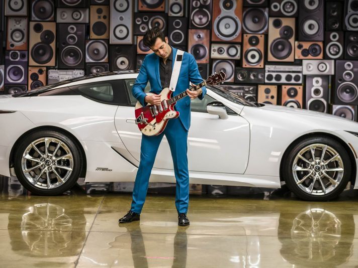 Lexus 'Make Your Mark': parte da Ibiza la partnership con Mark Ronson