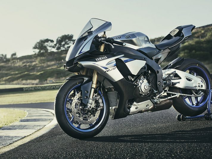 Le supersportive Yamaha