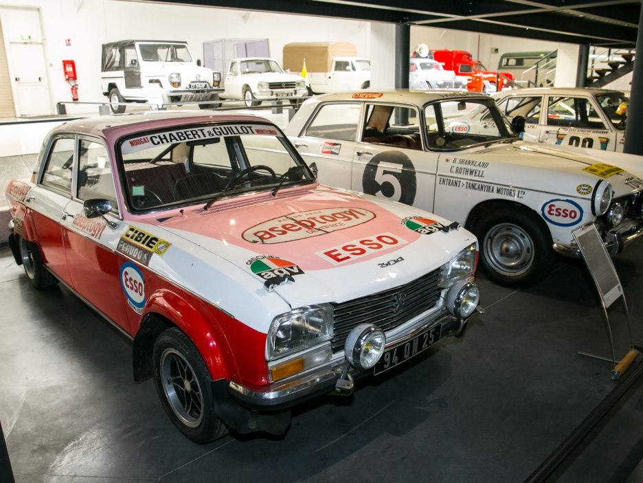 Museo Peugeot rally 2