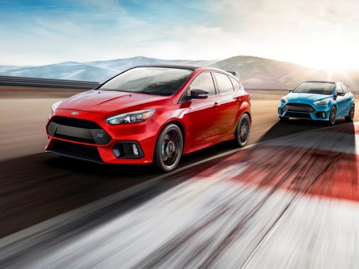 Ford Focus RS: negli USA dice addio con una Limited Edition