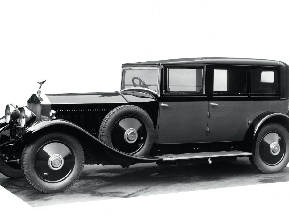 1925 - Rolls-Royce Phantom I Sedanca De Ville by Hooper
