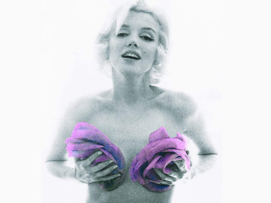 Marilyn_Monroe_With_Roses_Pink_Tint©The Bert Stern TrustCourtesy Staley-Wise Gallery New York