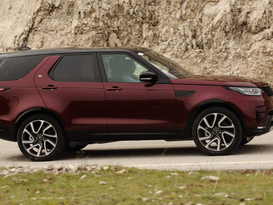 Land Rover Discovery 2017 - In movimento - 8