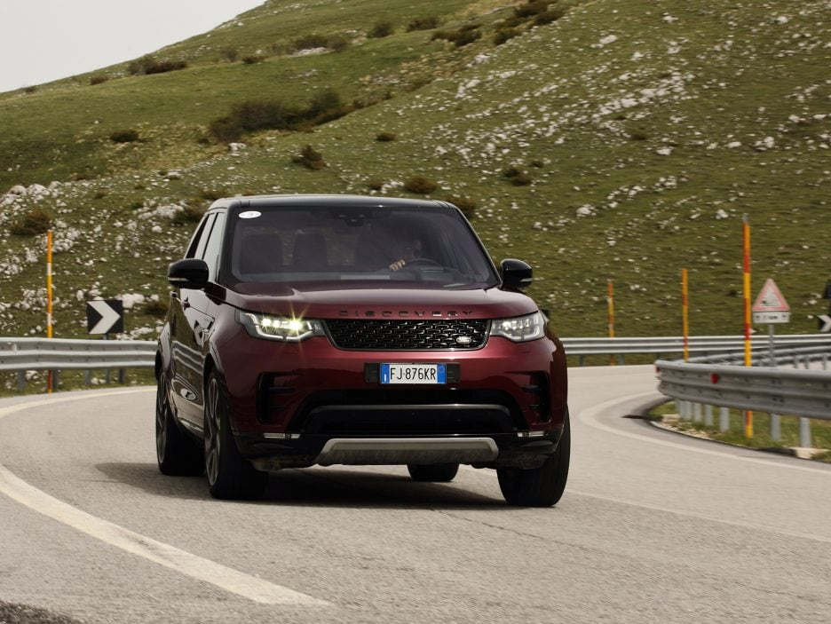 Land Rover Discovery 2017 - In movimento - 6
