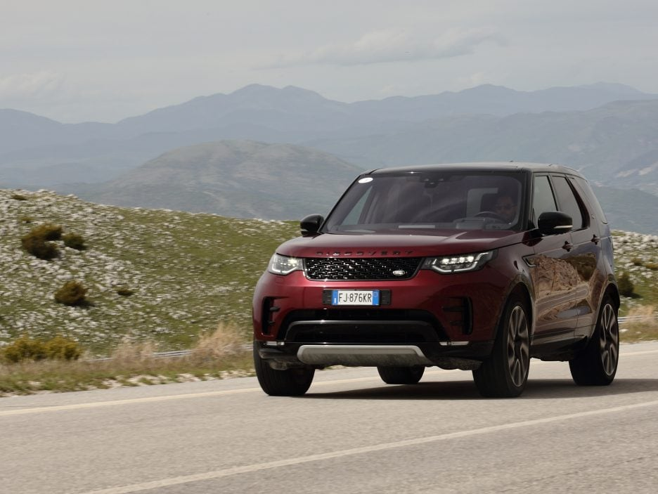 Land Rover Discovery 2017 - In movimento - 5