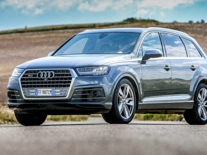 Audi SQ7 e gamma Q, provate su strada e off-road