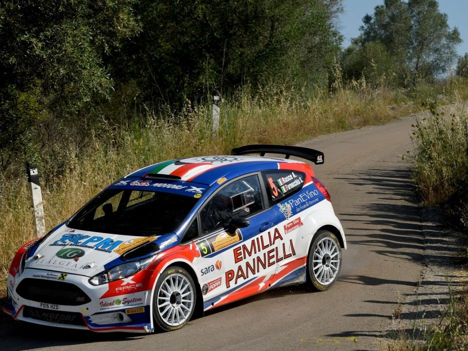 Antonio Rusce Ford Fiesta Rally Salento