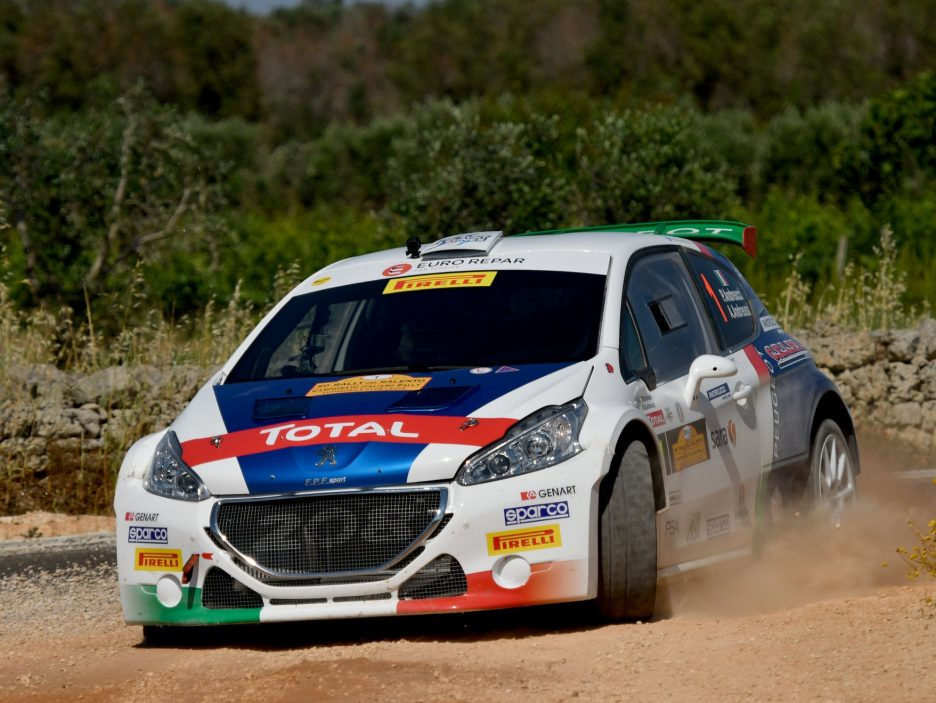 Paolo Andreucci Peugeot 208 Rally Salento 2017