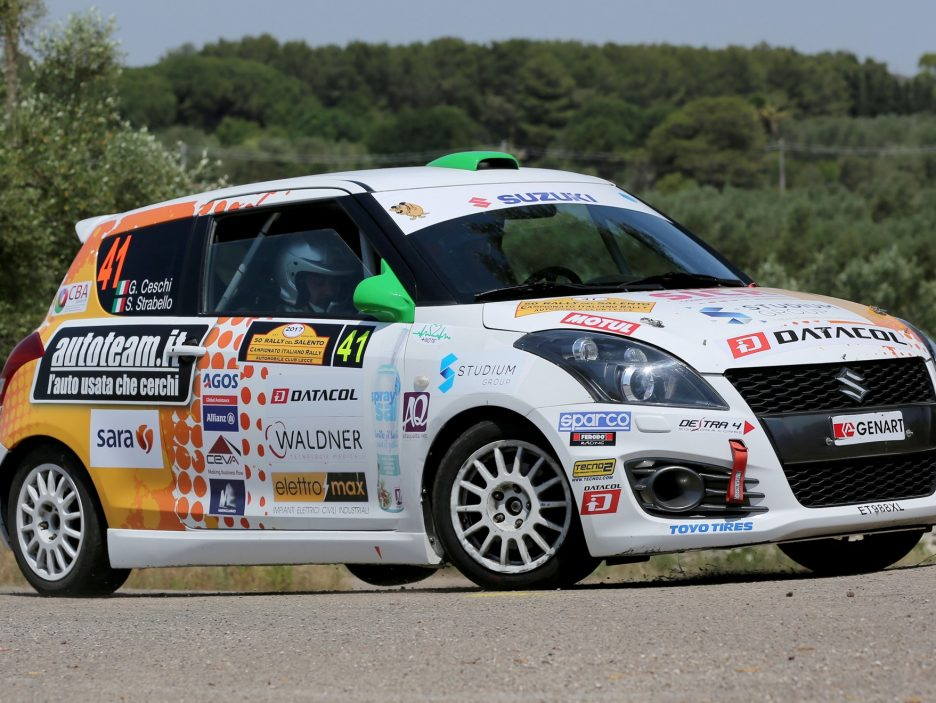 Stefano Strabello Suzuki Swift 4 Rally Salento 2017