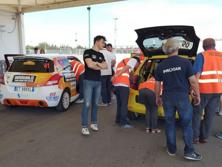 Assistenza Rally Salento 2017