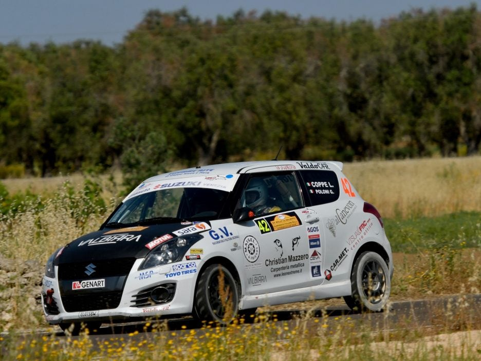 Lorenzo Coppe Suzuki Swift Rally Salento 2017