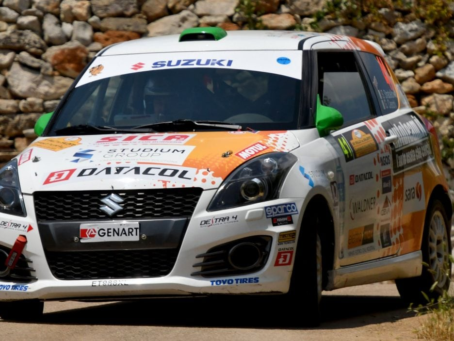 Stefano Strabello Suzuki Swift Rally Salento 2017