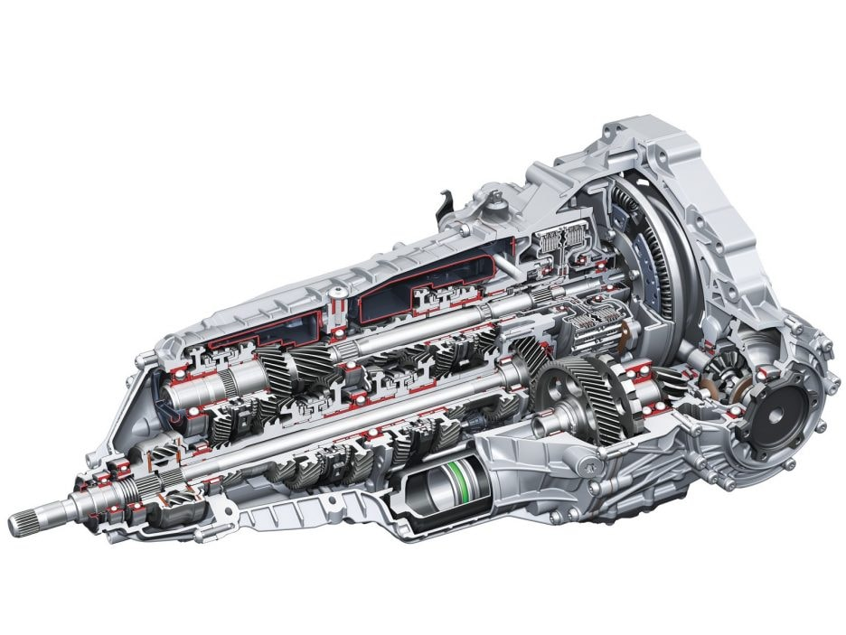 S tronic dual-clutch transmission