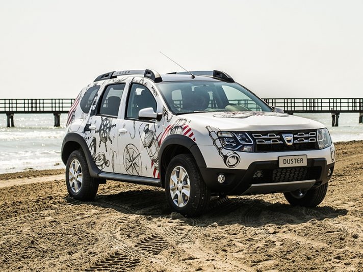 Dacia Duster Strongman, la limited edition