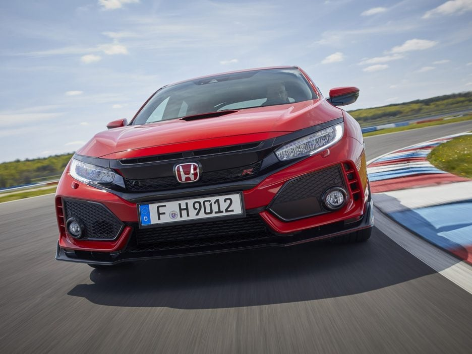 Honda Civic Type R frontale