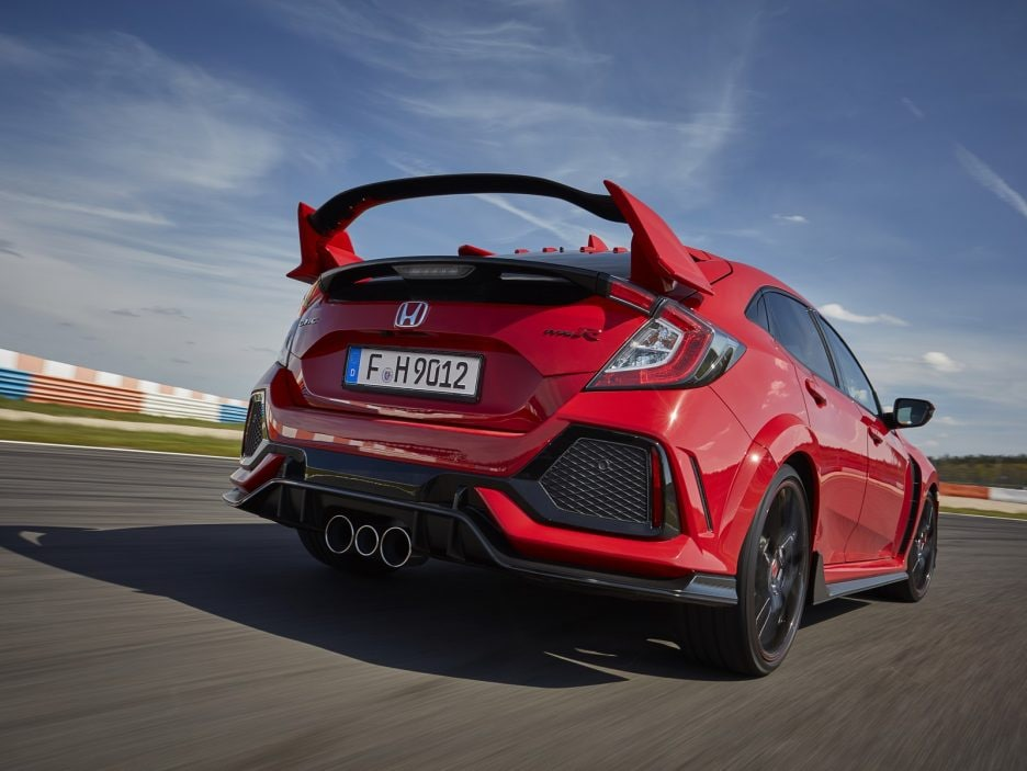 Honda Civic Type R tre quarti posteriore 3